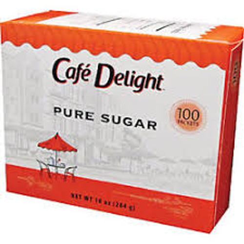 Individual Sugar Packets 100 count