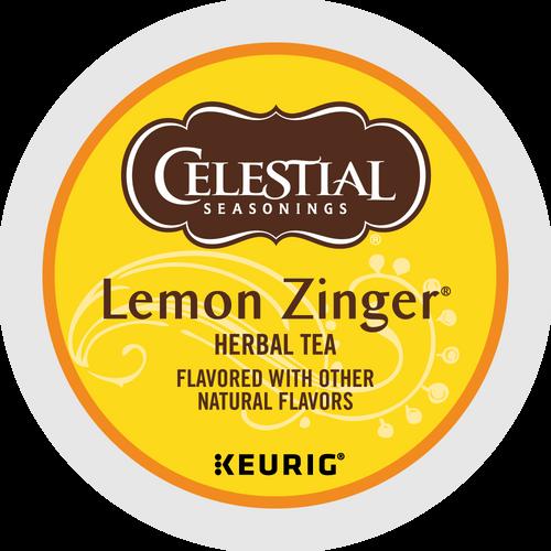 Celestial Lemon Zinger Tea K-Cups