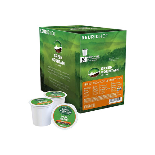 Green Mountain DECAF Variety Sampler K-Cups