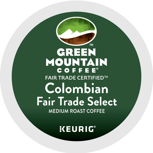 BULK Green Mountain Colombian Fair Trade K-Cups