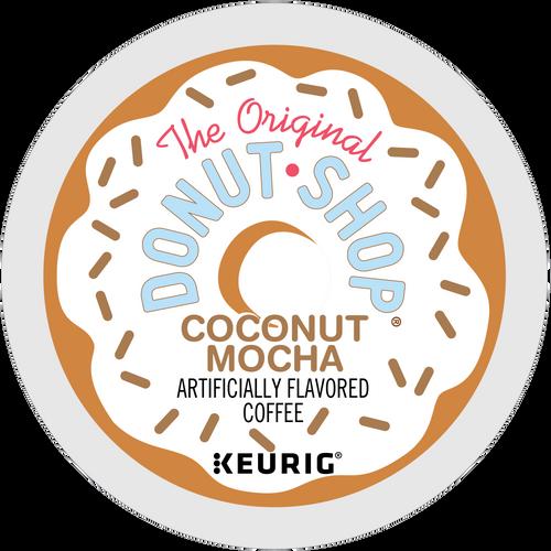 Donut Shop Coconut Mocha Coffee