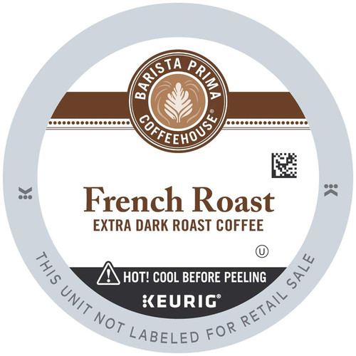 Barista Prima Coffeehouse French Roast K-Cups