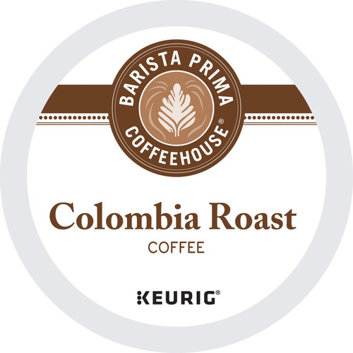 Barista Prima Coffeehouse Colombia Coffee K-Cups