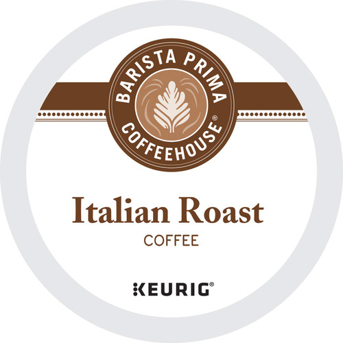 Barista Prima Coffeehouse Italian Roast Coffee K-Cups