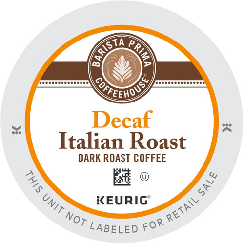 Barista Prima Coffeehouse DECAF Italian Roast Coffee K-Cups