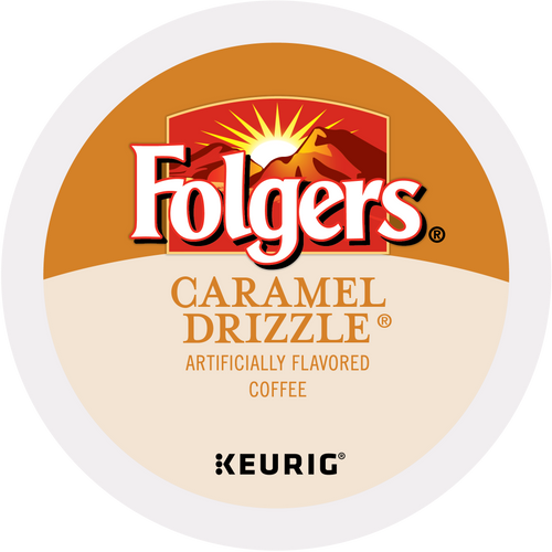 Folgers Caramel Drizzle K-Cups