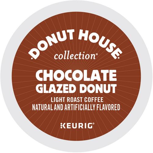 Donut House Chocolate Glazed Donut K-Cups