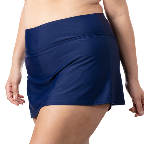 Plus Skirt Navy
