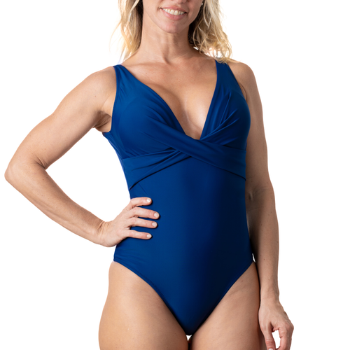 Navy Crossover One Piece