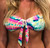 Over the Rainbow Tie Front Bandeau