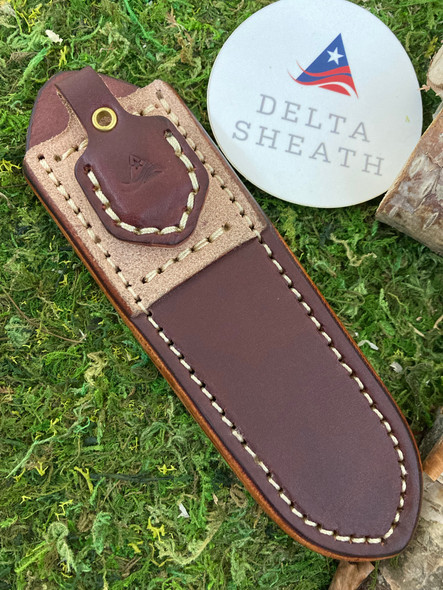 Delta Insider Pocket Leather Sheath.