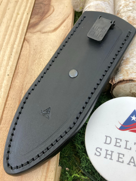 Delta TrueLock XL Leather sheath. Pocket sheath.