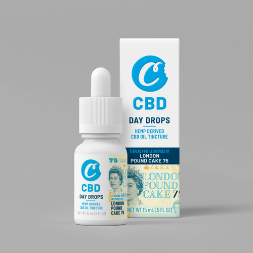 Cookies CBD Tincture London Pound Cake 75