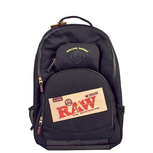 Raw Smell Proof Backpack Black