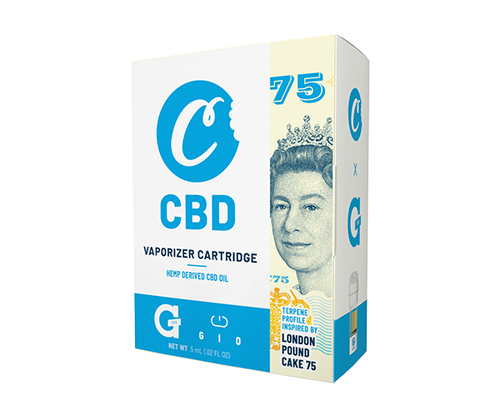 Cookies CBD GIO CARTRIDGE - LONDON POUNDCAKE 75