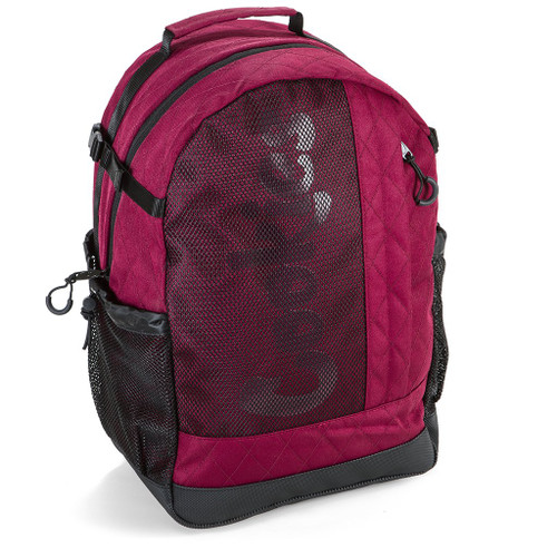 Cookies Mesh Overlay Backpack (Red)