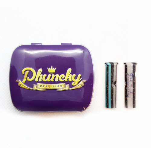Phuncky Feel Tip Panther - (1 CLASSIC (ROUND)Premium) + Collectible Tin