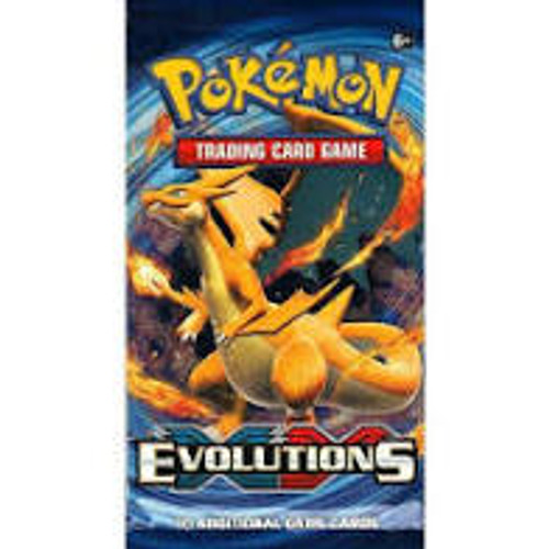 Pokemon XY Evolutions Blister Pack With 5 Extra Cards Factory Sealed