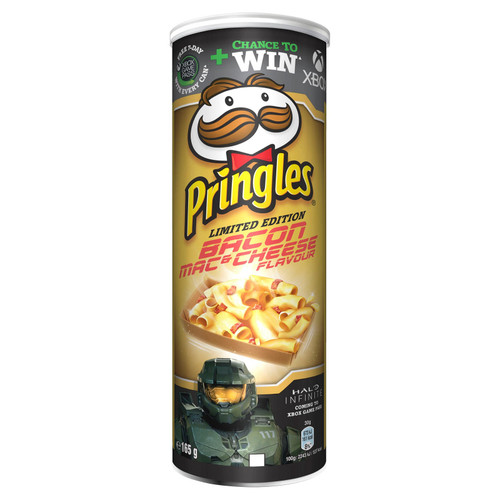 Pringles Bacon Mac & Cheese Limited Edition 165g