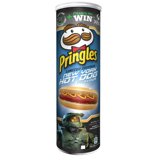 Pringles New York HOT DOG Flavor Limited Edition 165g