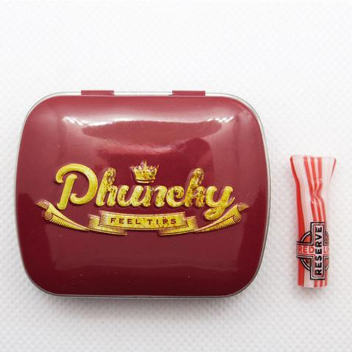 Phuncky Feel Tips RED LINE - CLASSIC (FLAT)