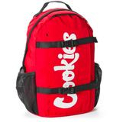 Cookies Non-Standard Ripstop Nylon Backpack Red