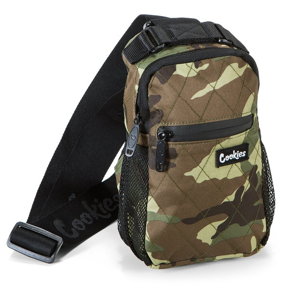 "Cookies ""Noah"" Quilted Over The Shoulder Bag (Camo)"
