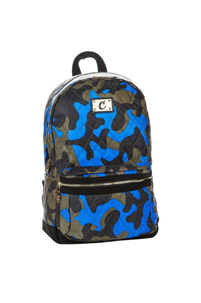 Cookies V3 Quilted Backpack (Camo Blue)
