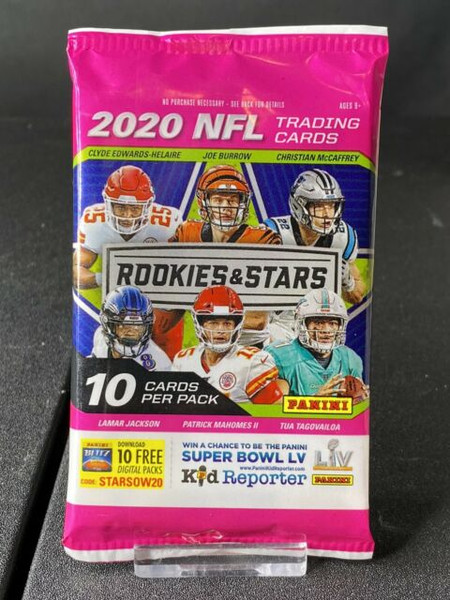 2020 Panini Rookies and Stars NFL 10 Card Pack-