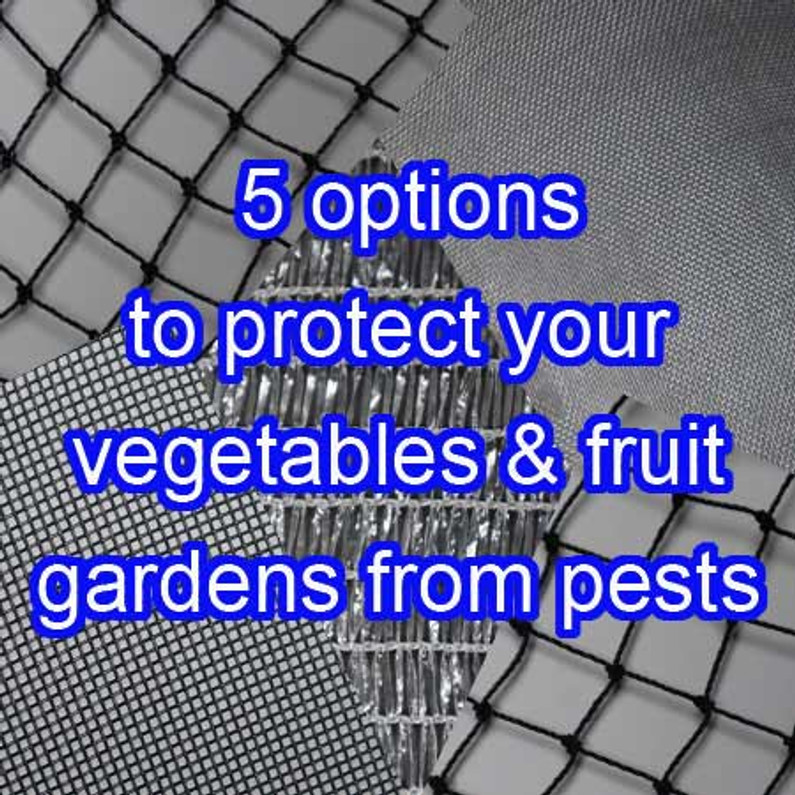 5 different options for pest and bird netting 2020