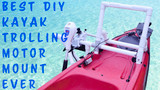 Best DIY Kayak trolling motor mount ever