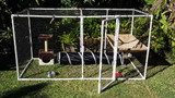 Free PVC cat enclosure plan - Klever Cages
