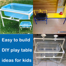 Easy DIY play tables for the kids