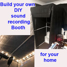 DIY Sound Booth for your home studio, podcasts or voiceovers