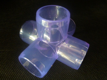5 Way Clear Connector 20mm
