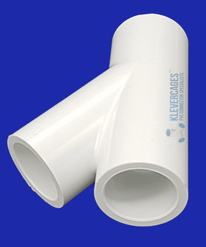 20mm PVC Wye connector. with a 45 degree angle this will stop doors on your next PVC project from sagging. It can be used for a cat enclosure , garden protection or for a greenhouse.