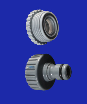 12mm hose fit connector with 20mm and 25mm female thread