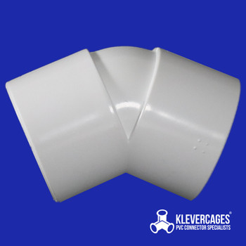 32mm 45 degree PVC fitting fits PVC pressure pipe to build PVC projects