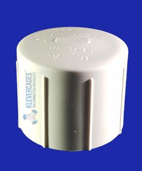 40mm PVC cap to fit PVC plumbing pressure pipe
