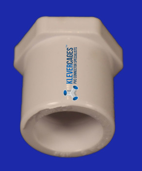 PVC reducer reduces 32mm PVC pipe to 25mm PVC pipe from Klever Cages