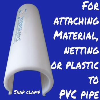 Snap Clamp - 20mm 10cm long