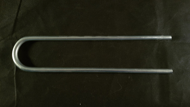 10mm galvanised steel U pegs for 32mm & 40mm pipe