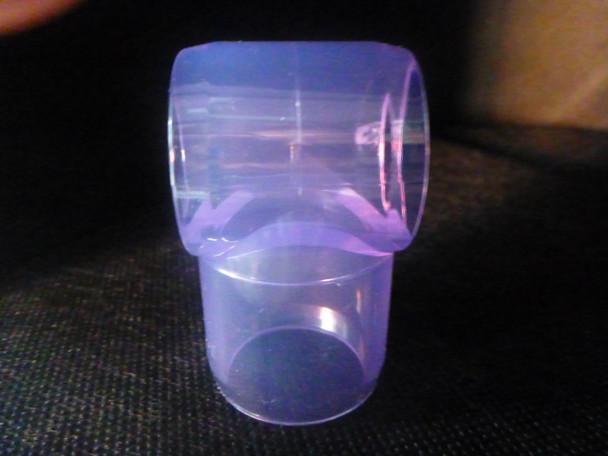 Clear Slip Tee - 20mm
