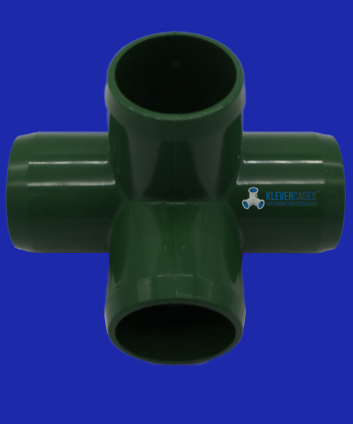 Green 25mm PVC L-Tee connector