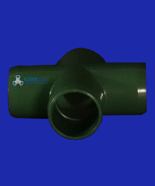 25mm green PVC 4 way connector