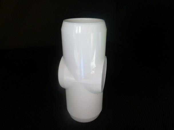 25mm PVC Slip Cross Connector