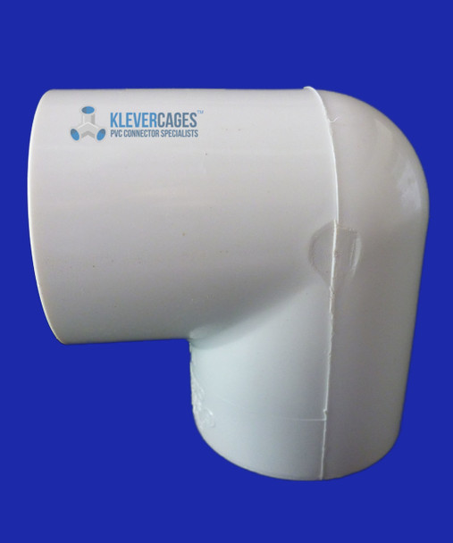 15mm PVC 90 degree elbow from Klever Cages.