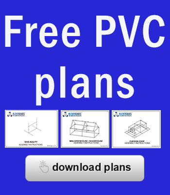 Free PVC plan download Klever Cages
