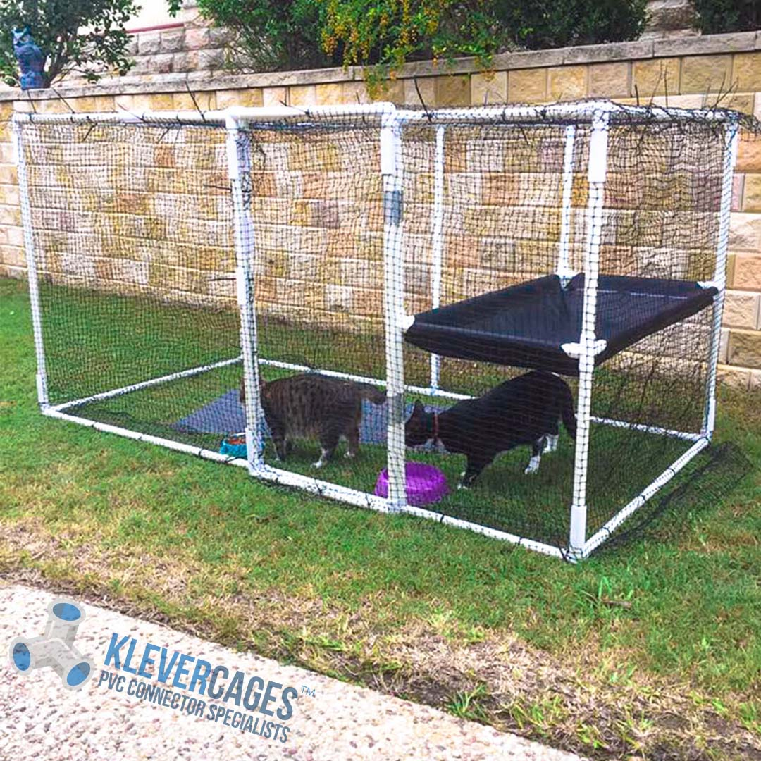 Lightweight Pvc Cat Enclosure From Klever Cages