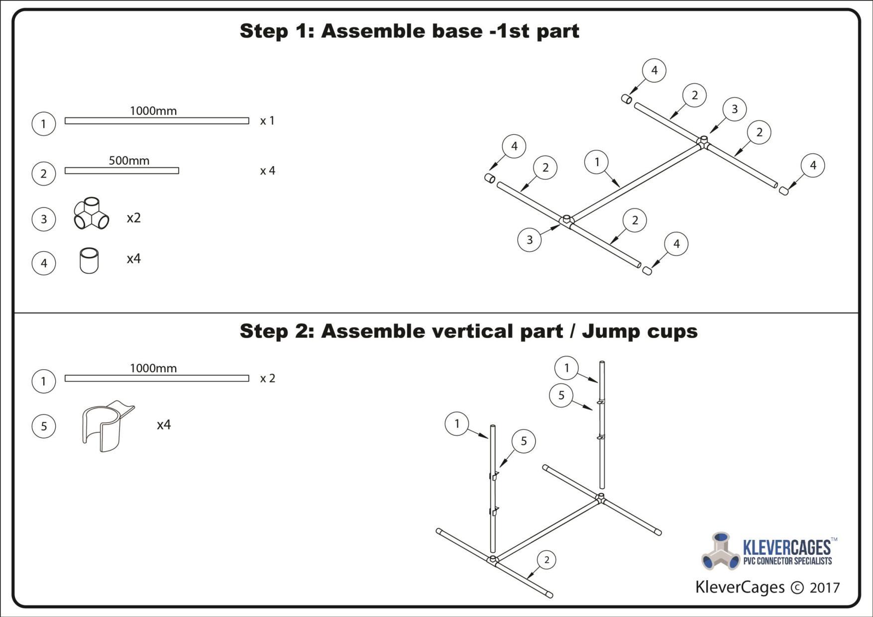 Step 1 - Assemble the base